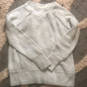"Anthropologie ""sleeping on snow"" sweater"